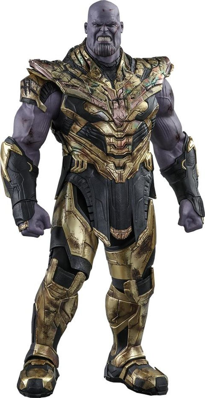 PRÉ VENDA: Action Figure Thanos (Battle Damaged Version): Vingadores Ultimato (Avengers Endgame)  MMS564 (Escala 1/6) - Hot Toys