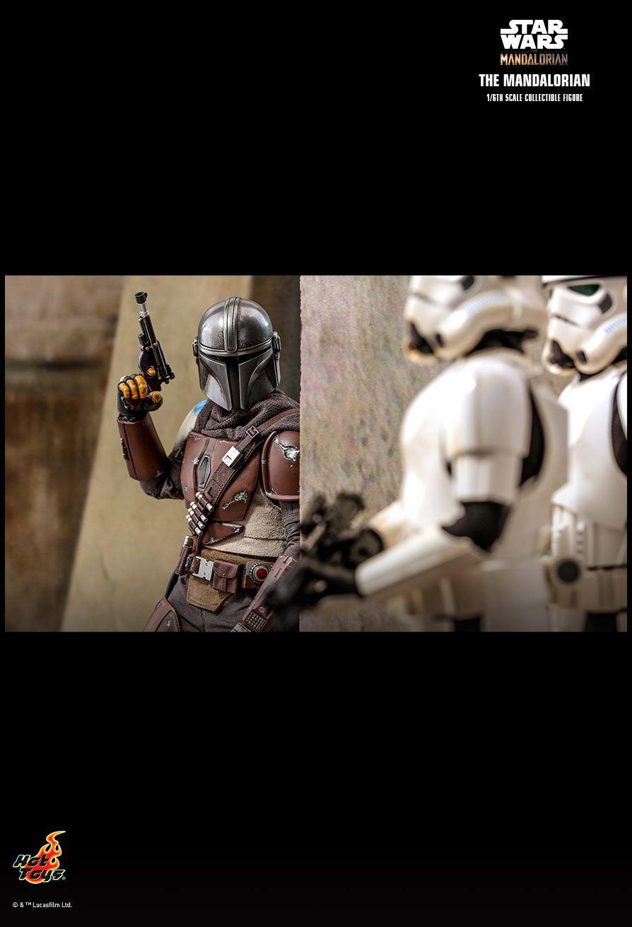 PRÉ VENDA: Action Figure The Mandalorian: The Mandalorian Star Wars Series (TMS007) Escala 1/6 - Hot Toys