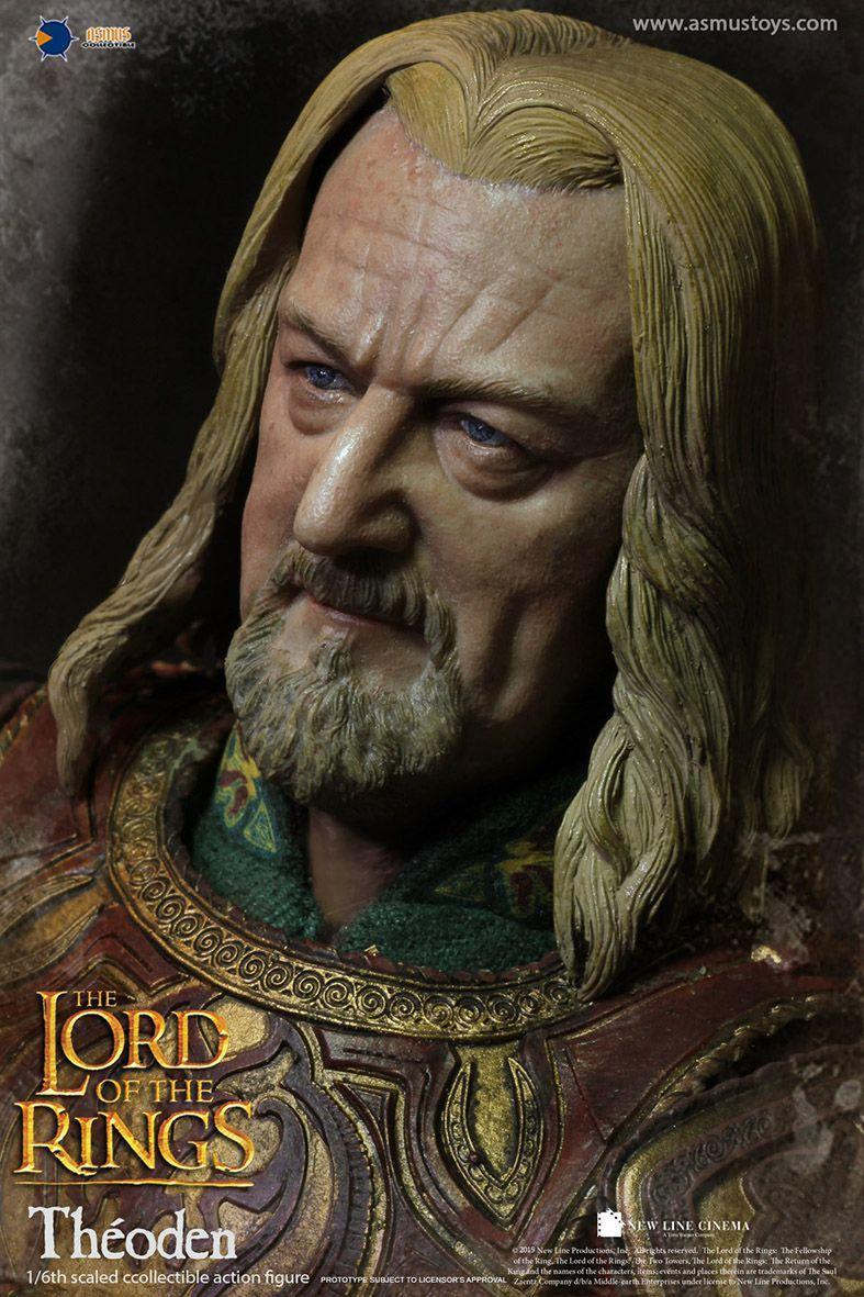PRÉ-VENDA Action Figure Théoden: O Senhor dos Anéis (The Lord Of The Rings) Boneco Colecionável Escala 1/6 - Asmus Toys