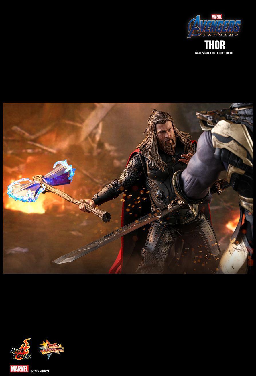 PRÉ VENDA: Action Figure Thor: Vingadores Ultimato (Avengers Endgame) Boneco Colecioável (MMS557) Escala 1/6 - Hot Toys