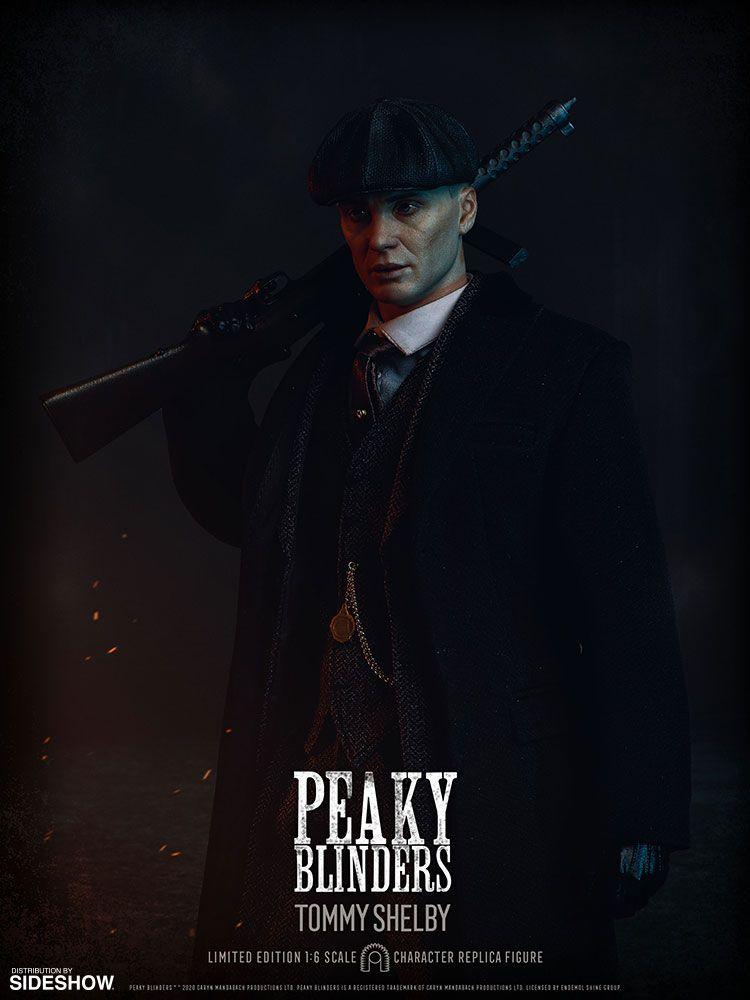 PRÉ VENDA Action Figure Tommy Shelby: Peaky Blinders (Escala 1/6) - BIG Chief Studio