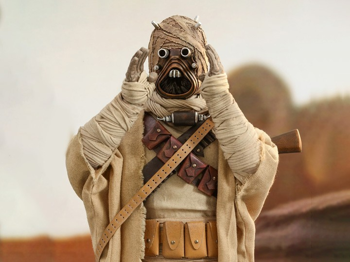 PRÉ VENDA: Action Figure Tusken Raider: The Mandalorian (TMS028)  Escala 1/6 - Hot Toys