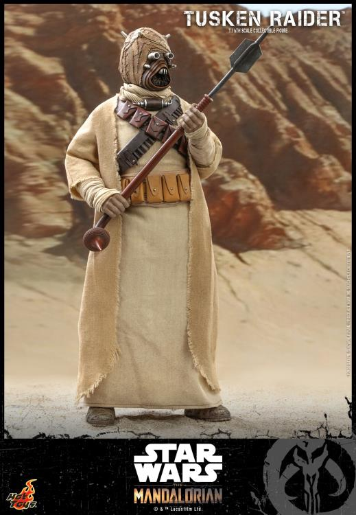 PRÉ VENDA: Action Figure Tusken Raider: The Mandalorian (TMS028)  Escala 1/6 - Hot Toys