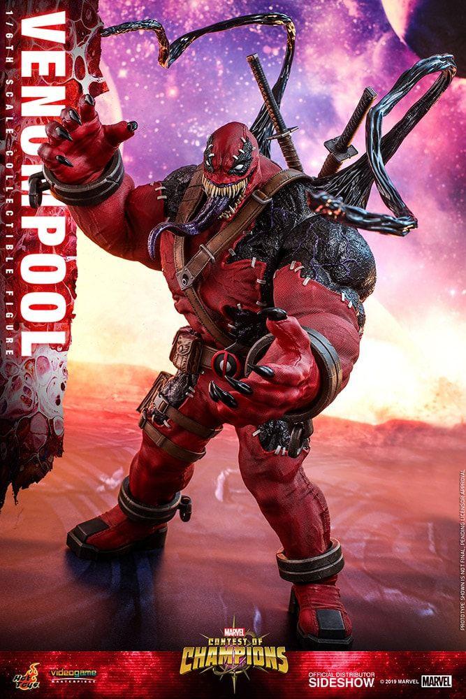 PRÉ-VENDA Action Figure Venompool: Marvel (VGM35) Boneco Colecionável Escala 1/6 - Hot Toys