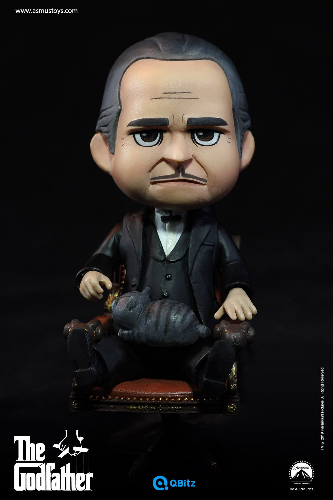 PRÉ VENDA: Action Figure Vito Corleone (QBitz): O Poderoso Chefão (The Godfather) - Asmus Toys