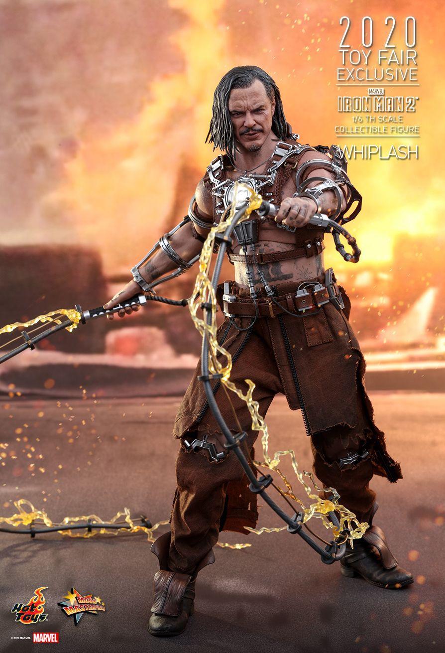 Pré Venda: Action Figure: Whiplash: Iron Man 2: 1/6th Scale (MMS569) - Hot Toys