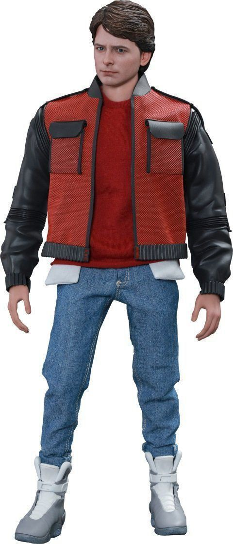 Boneco Marty Mcfly: De Volta para o Futuro II (Back to The Future II) Escala 1/6 - Hot Toys