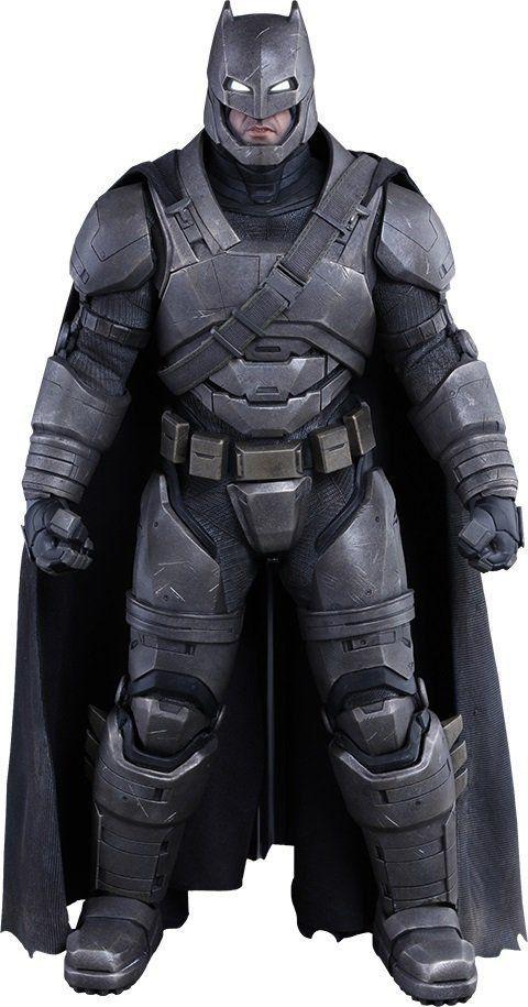 Action Figure Armored Batman: Batman Vs Superman A Origem da Justiça (MMS349) Escala 1/6 - Hot Toys