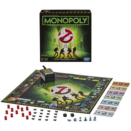 Pré Venda: Boardgames - Monopoly - Ghostbusters - 0000 - Hasbro