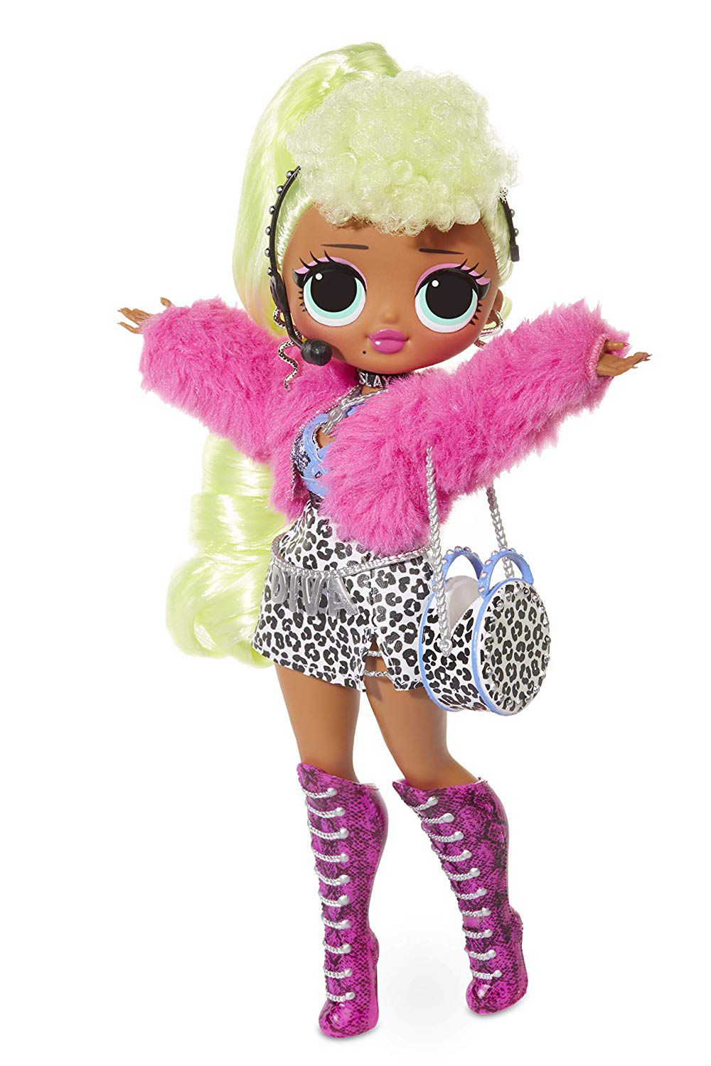 PRÉ VENDA: Boneca Lady Diva (Fashion Doll): LOL Surprise! O.M.G. (20 Surpresas)