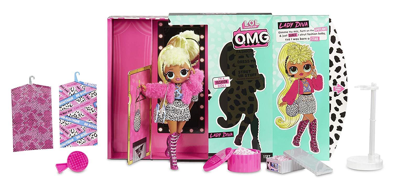 Boneca Lady Diva (Fashion Doll): LOL Surprise! O.M.G. (20 Surpresas)