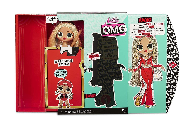 PRÉ VENDA: Boneca Swag (Fashion Doll): LOL Surprise! O.M.G. (20 Surpresas)