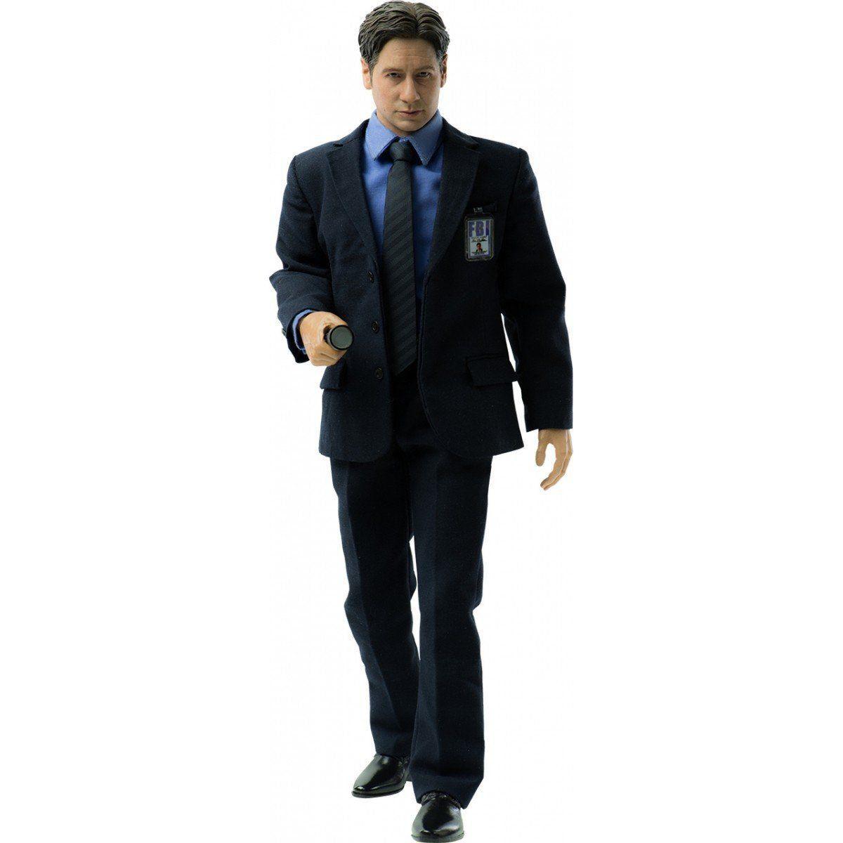 PRÉ VENDA: Boneco Agente Fox Mulder: Arquivo X (The X-Files) Escala 1/6 - Threezero