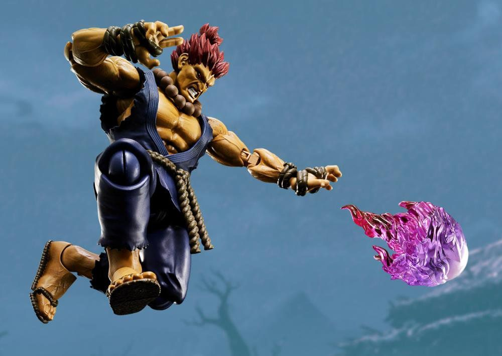 Boneco Akuma: Street Fighter S.H Figuarts - Bandai