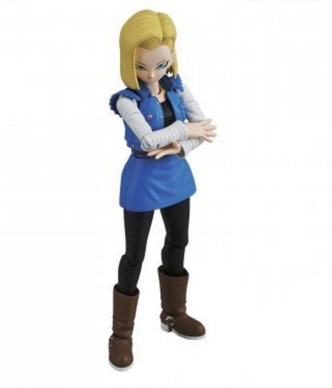 Boneco Android 18: Dragon Ball Z Figure-rise - Bandai