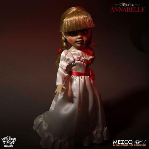 """PRÉ VENDA Action Figure Annabelle 10"""": Invocação do Mal (The Conjuring) Living Dead Dolls - Boneco Colecionável - Mezco"""