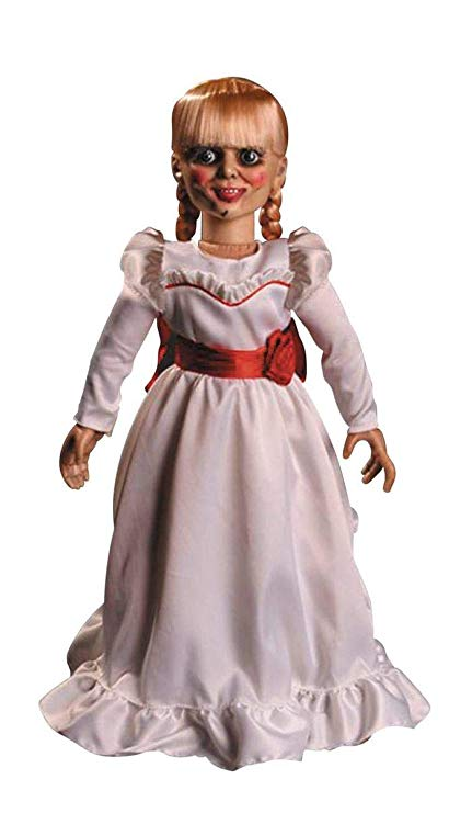 """PRÉ VENDA Action Figure Annabelle 18"""": The Conjuring Prop Réplica - Boneco Colecionável - Mezco"""