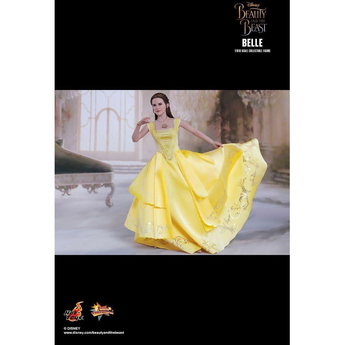 PRÉ VENDA: Boneco Bela (Belle): A Bela e a Fera Movie Masterpiece Escala 1/6 - Hot Toys