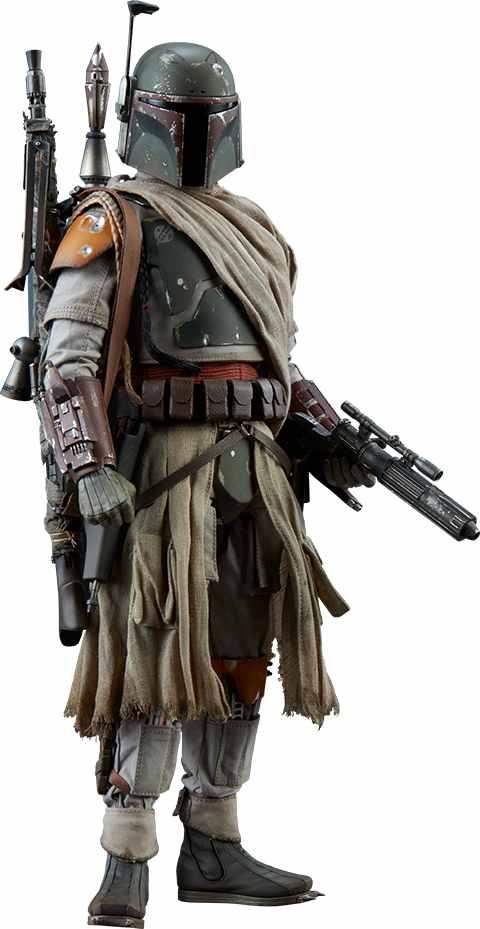 PRÉ-VENDA Action Figure Boba Fett: Star Wars (Mythos Collection) (Escala1/6) Boneco Colecionável - Sideshow