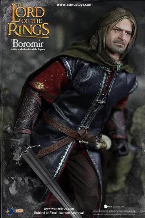 PRÉ VENDA: Boneco Boromir: O Senhor dos Anéis (The Lord Of The Rings) Escala 1/6 - Asmus Toys