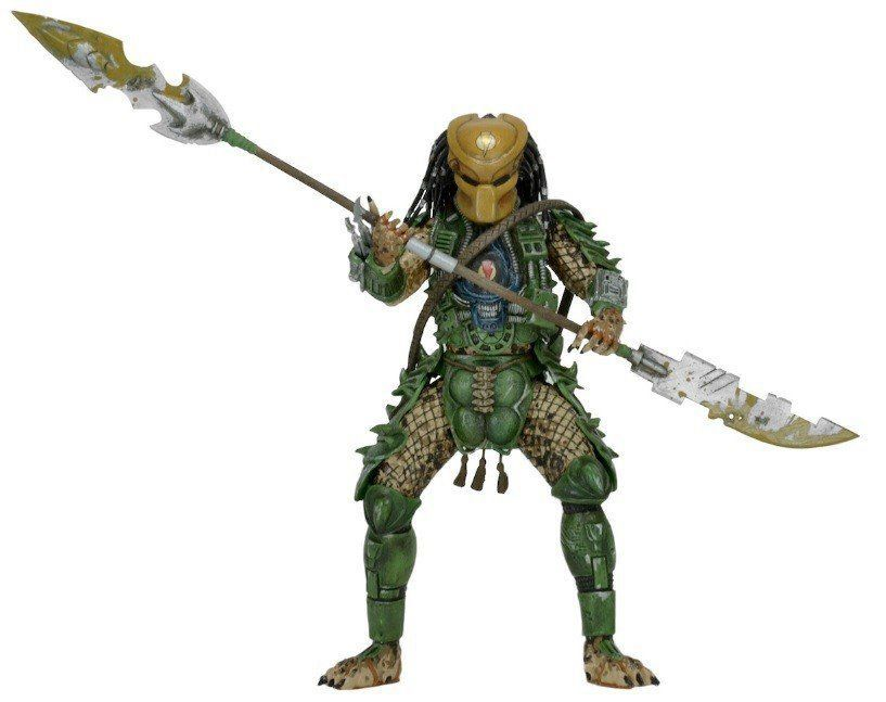 Boneco Broken Tusk Predador / Predator: Predador Series 18 Escala 1/10 - NECA