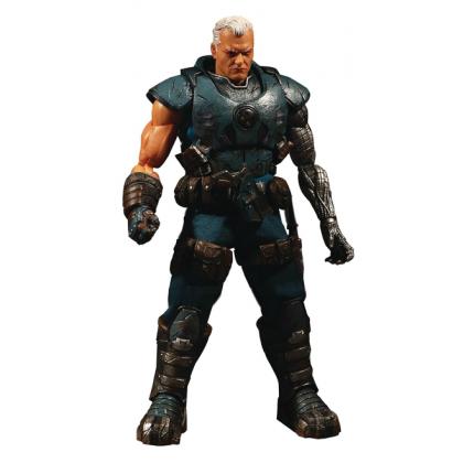 Action Figure Cable: X-Men (Marvel) One:12 Collective (Escala 1/12) Boneco Colecionável - Mezco
