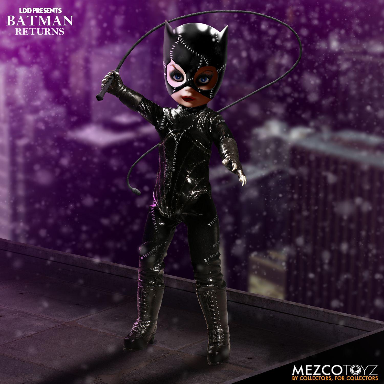 PRÉ VENDA: Boneco Catwoman Living Dead Dolls: Batman Returns (Batman o Retorno) - Mezco