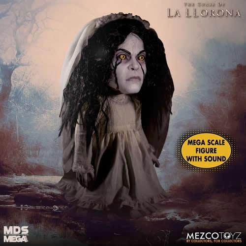"""PRÉ VENDA Action Figure Chorona (La Llorona) 15"""": A Maldição da Chorona (The Curse of La Llorona) Boneco Colecionável - Mezco"""
