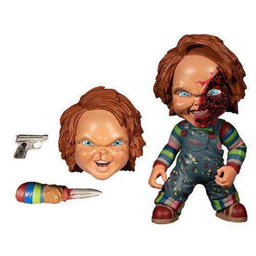 "Action Figure Chucky 6"": Brinquedo Assassino (Child's Play) Deluxe Edition - Boneco Colecionável - Mezco"