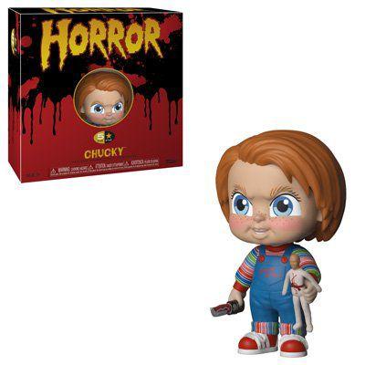 PRÉ VENDA: Boneco Chucky: Brinquedo Assassino (Child's Play) (5 Star) - Funko