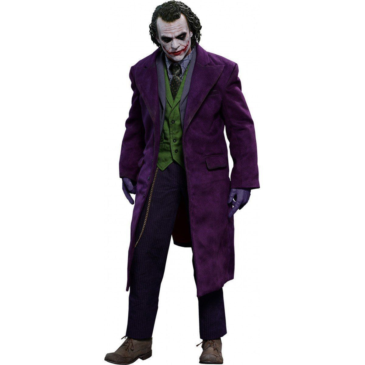 Action Figure Coringa (The Joker): Batman O Cavaleiro das Trevas (The Dark Knight) QS010 (Escala 1/4) - Hot Toys
