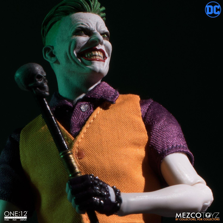 Action Figure Coringa (The Joker) Clown Prince Of Crime Edtion - One:12 Collective (Escala 1/12) Boneco Colecionável - Mezco (Apenas Venda Online)