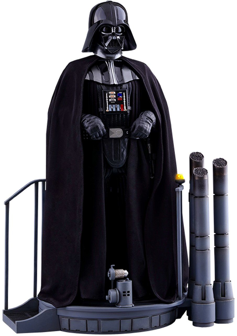 Action Figure Darth Vader Star Wars O Império Contra-Ataca The Empire Strikes Back MMS 572 (Escala 1/6) - Hot Toys