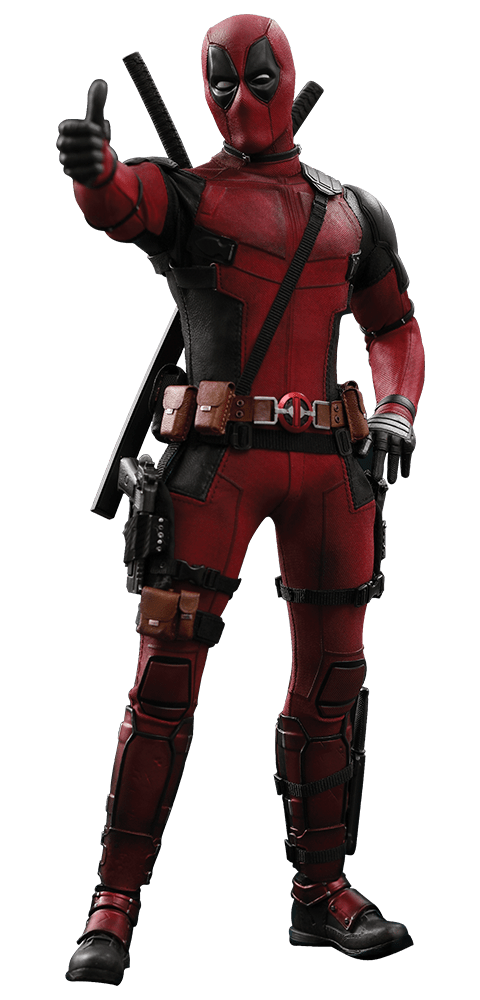 Action Figure Deadpool: Deadpool 2 (MMS490) (Escala 1/6) - Hot Toys