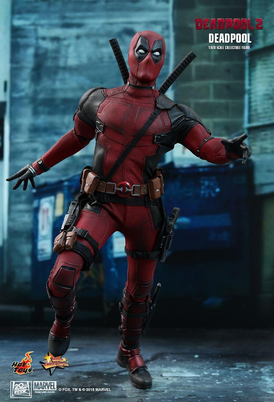Action Figure Deadpool: Deadpool 2 (MMS490) (Escala 1/6) - Hot Toys