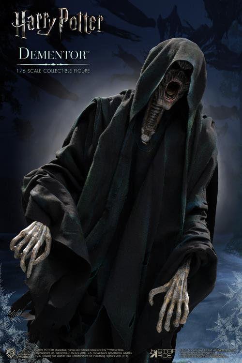 PRÉ VENDA: Boneco Dementador (Dementor): Harry Potter e o Prisioneiro de Azkaban (Escala 1/6) - Star Ace