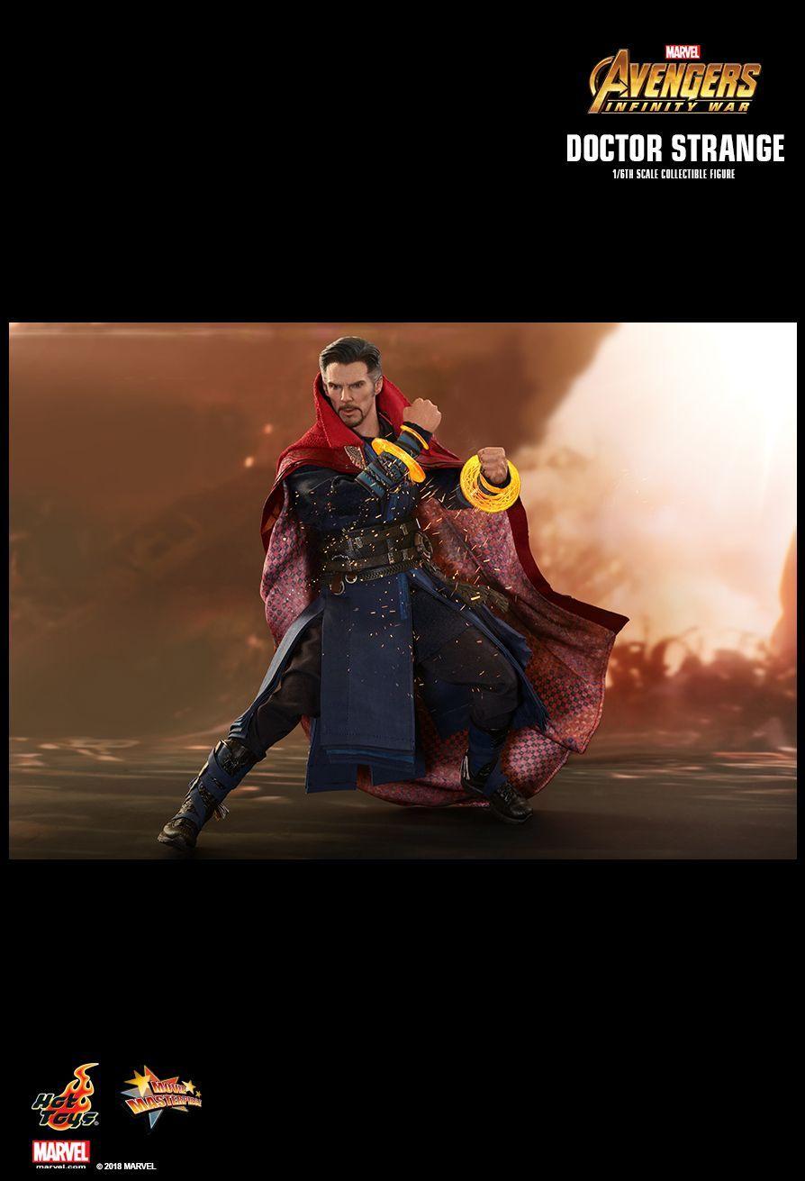 PRÉ VENDA: Boneco Doutor Estranho (Doctor Strange): Vingadores Guerra Infinita (Avengers Infinity War) (MMS484) Escala 1/6 - Hot Toys