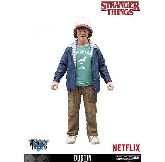 Action Figure Dustin: Stranger Things Season 2 - McFarlane