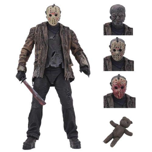 Action Figure Jason Voorhees 7'': Freddy vs Jason - Boneco Colecionável - NECA