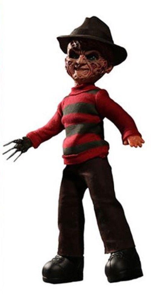 Boneco Freddy Krueger: A Hora do Pesadelo (A Nightmare on Elm Street) Living Dead Dolls (Falante) - Mezco