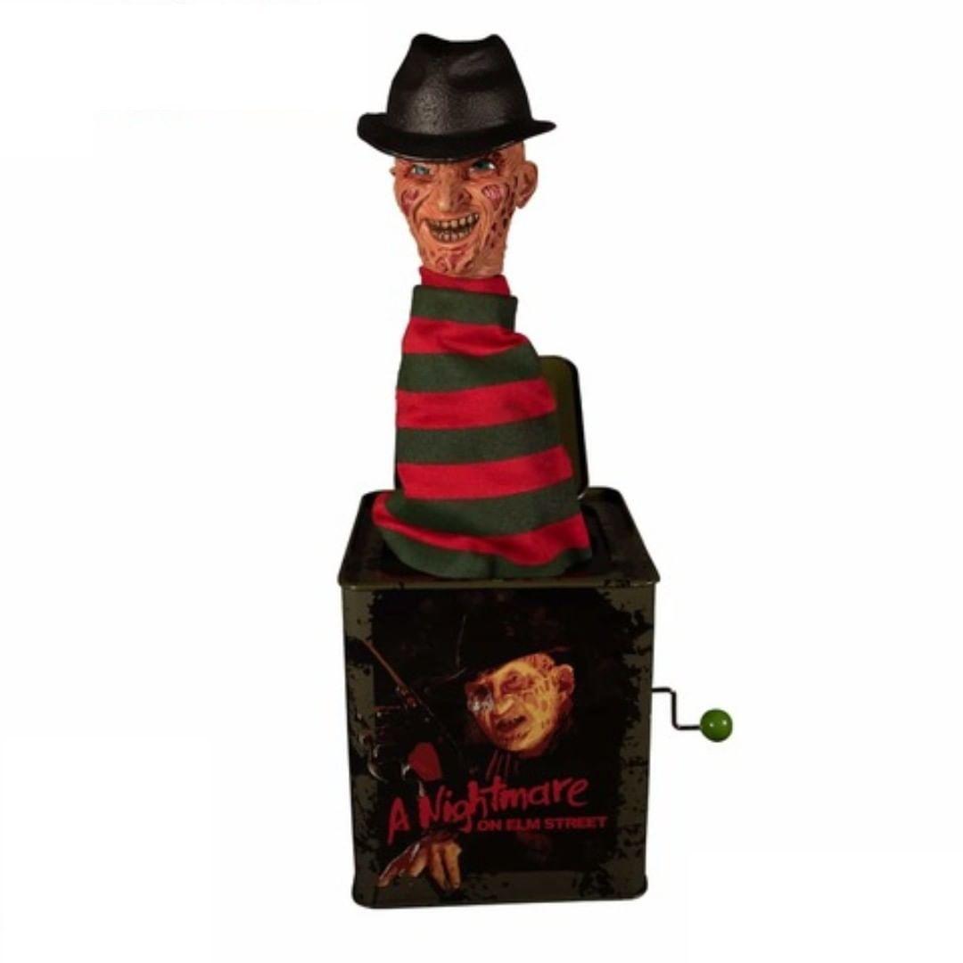 Boneco Freddy Krueger (Burst-A-Box): A Hora do Pesadelo (A Nightmare on Elm Street) - Mezco