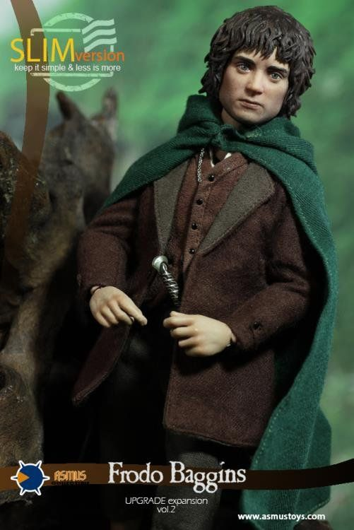 PRÉ VENDA: Boneco Frodo: O Senhor dos Anéis (The Lord of the Rings) 1/6 - Asmus Toys
