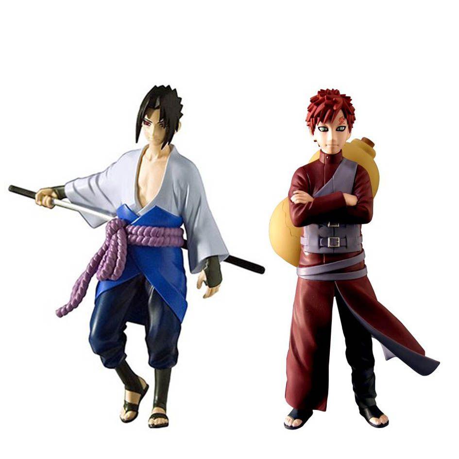 Action Figure Gaara e Sasuke: Naruto Shippuden (Pack de 2) Versão Deluxe - Boneco Colecionável - Toynami (Apenas Venda Online)