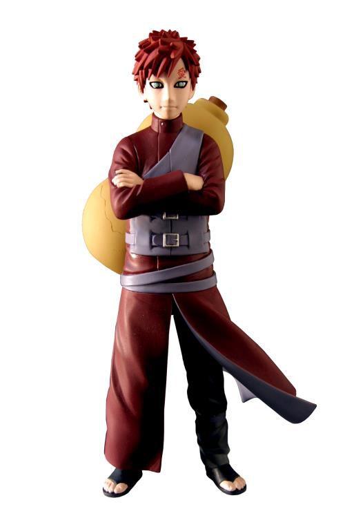 Action Figure Gaara: Naruto Shippuden - Boneco Colecionável - Toynami (Apenas Venda Online)