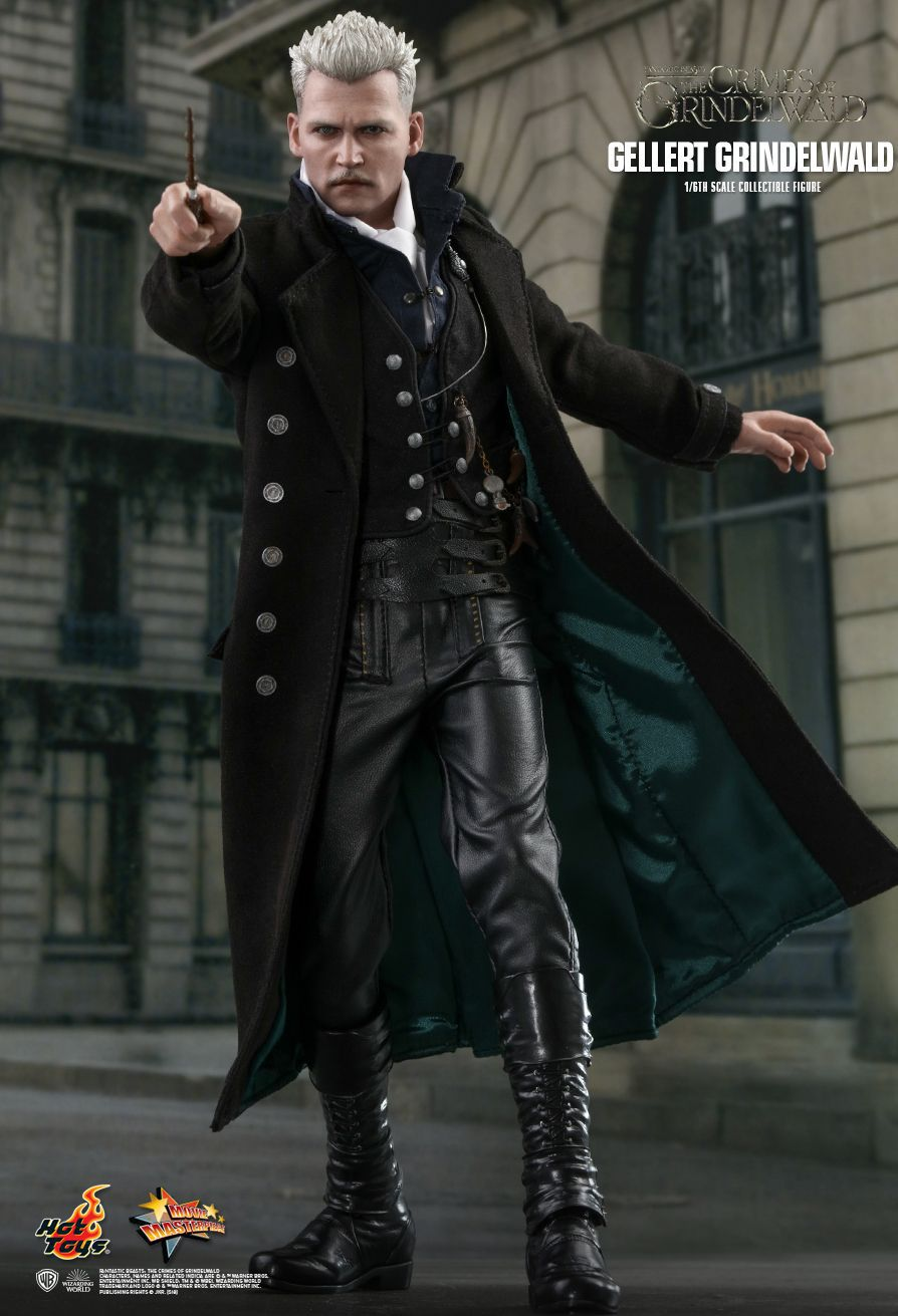 PRÉ VENDA Action Figure Gellert Grindelwald: Animais Fantásticos: Os Crimes de Grindelwald MMS513 Escala 1/6 - Boneco Colecionável - Hot Toys
