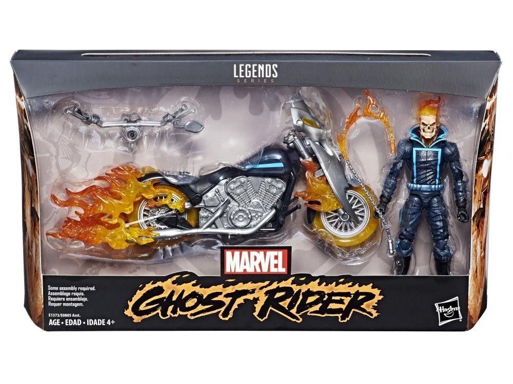 PRÉ VENDA: Boneco Ghost Rider (Motoqueiro Fantasma