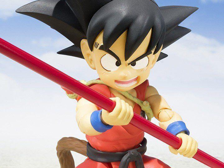 Boneco Goku Pequeno (Kid Goku): Dragon Ball S.H.Figuarts - Bandai