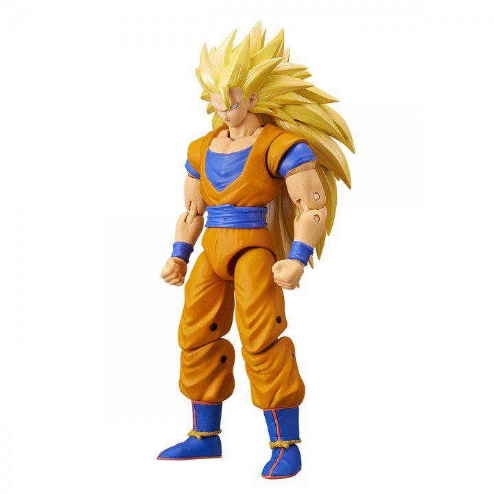 Action Figure Goku Super Saiyajin 3: Dragon Ball Z (Dragon Stars Series) Boneco Colecionável - Bandai