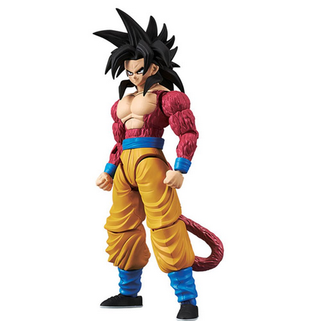 PRÉ VENDA Action Figure Goku Super Saiyan 4: Dragon Ball Super (Dragon Stars Series) Boneco Colecionável - Bandai