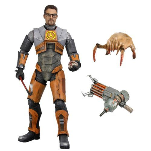 PRÉ VENDA: Boneco Gordon Freeman: Half Life - Neca